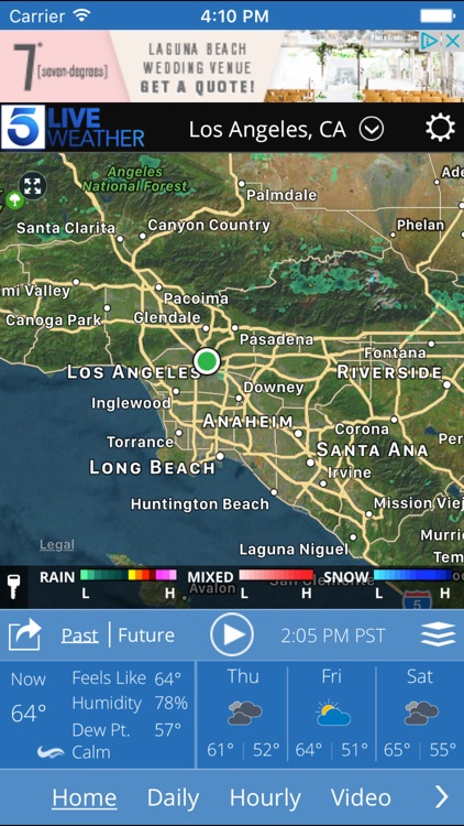 KTLA Los Angeles Weather