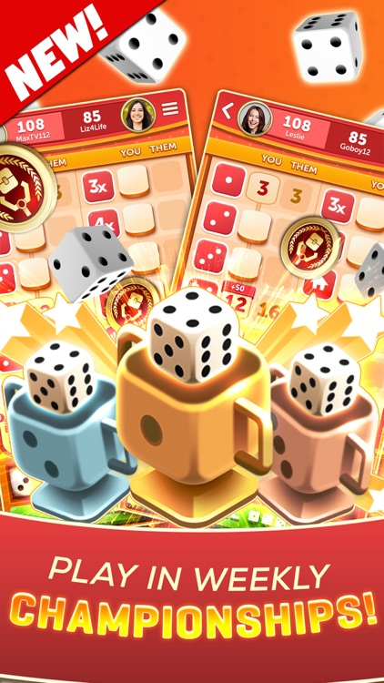 NEW YAHTZEE® With Buddies Dice screenshot-8