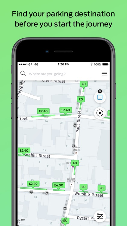 GoPark – London Street Parking screenshot-0