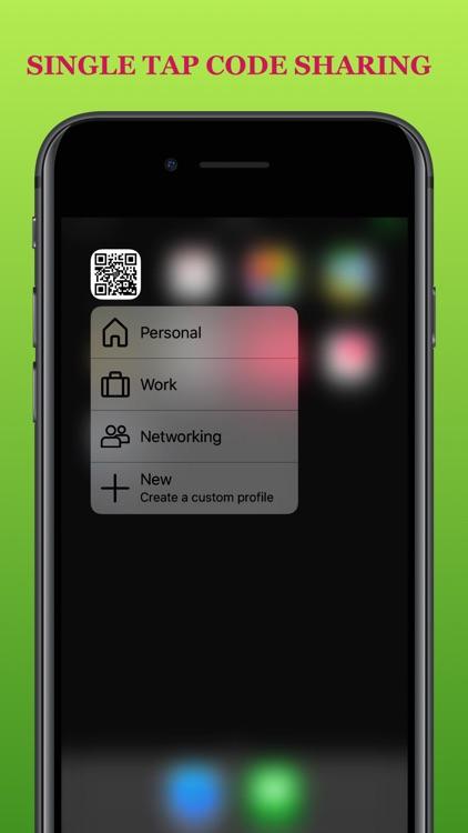 QontactR - Contact, as QR code screenshot-4
