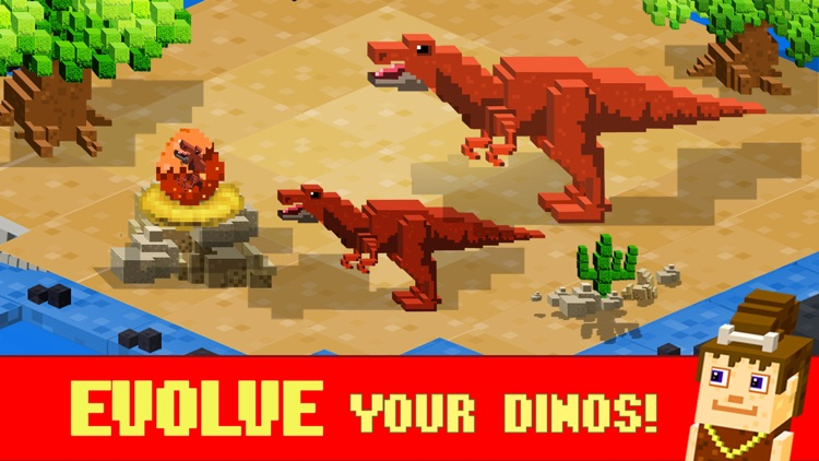 Jurassic Pixel Dinosaur Craft by Free Pixel Games Ltd