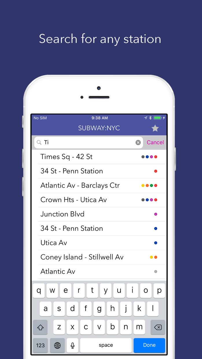 Subway Map: NYC Screenshot