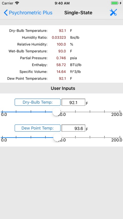 HVAC Psychrometric Plus screenshot-3
