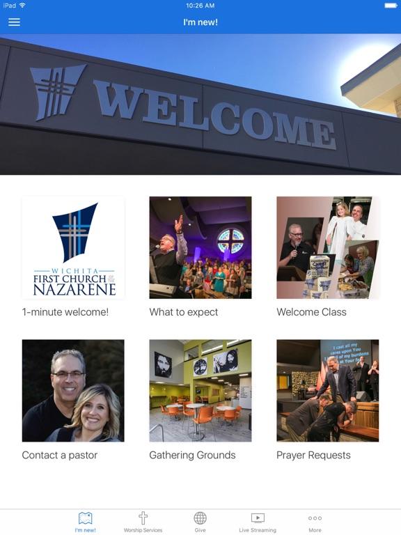 Wichita First Nazarene screenshot 4