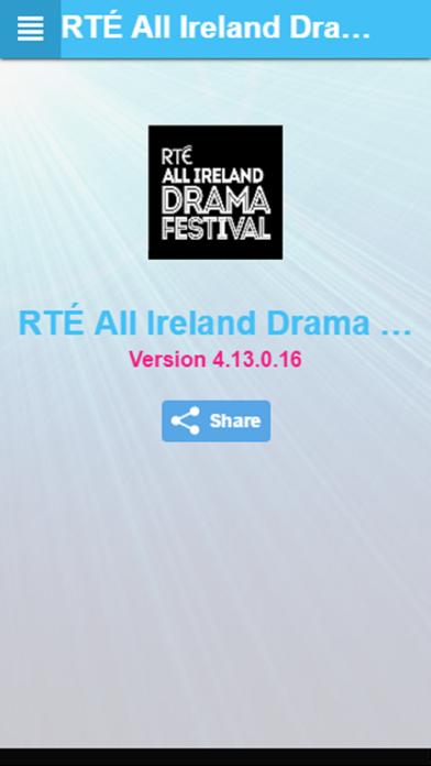 点击获取RTÉ All Ireland Drama Festival