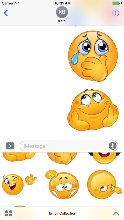 Emoji Collection Stickers