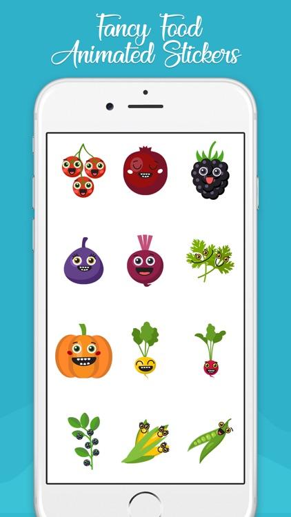 Fancy Food Animated Emojis