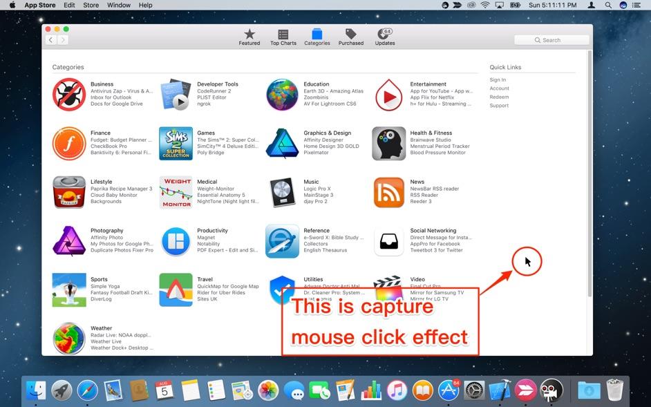 Easy Screen Recorder HD Mac 破解版 小巧易用的屏幕录像应用-麦氪搜(iMacso.com)