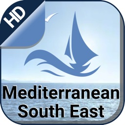 Mediterranean SE boating nautical offline charts