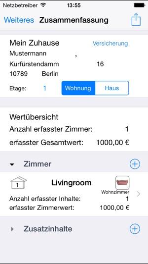 Hausrat im App Store