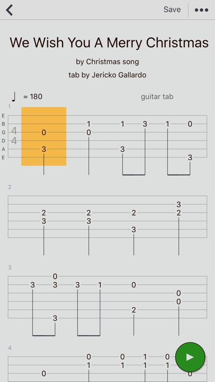 Guitar Tabs X - tabs editor
