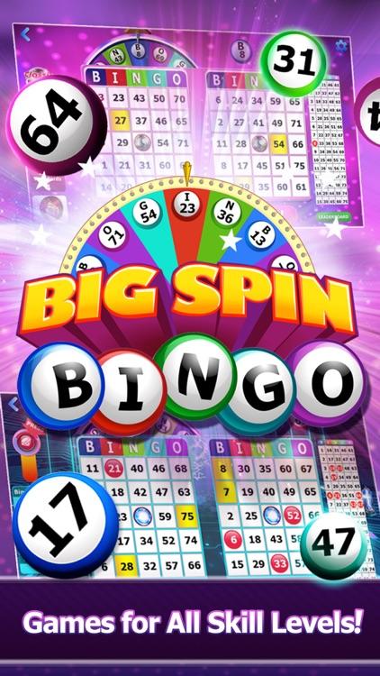 Big Spin Bingo|Best Bingo Game screenshot-0