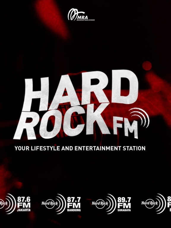 Hard Rock FM iPad