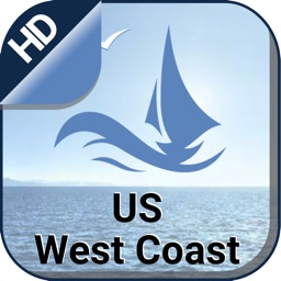 US West Coast Nautical Charts