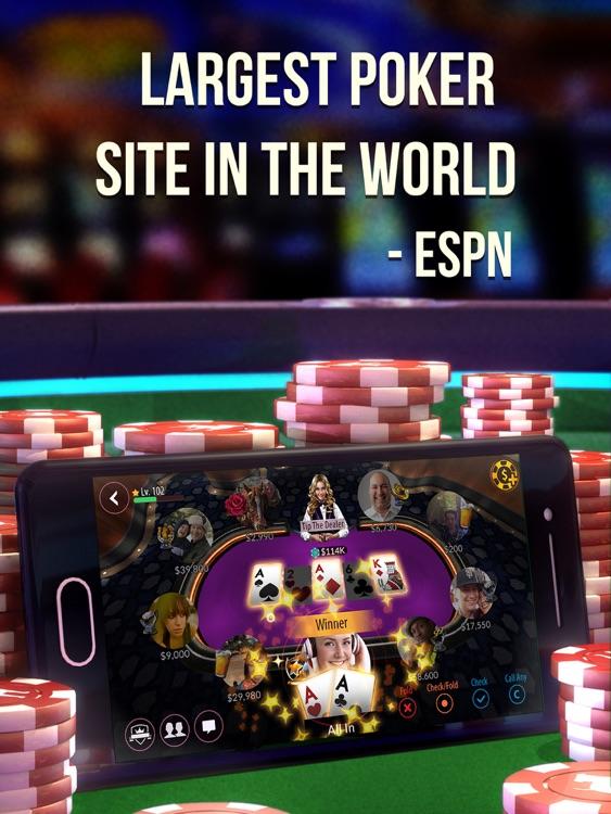 Zynga Poker HD: Texas Holdem screenshot-0
