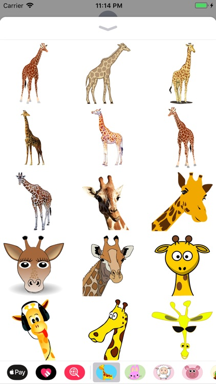 My Giraffe Sticker Pack
