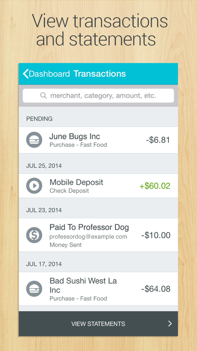GoBank - Mobile Banking Screenshot