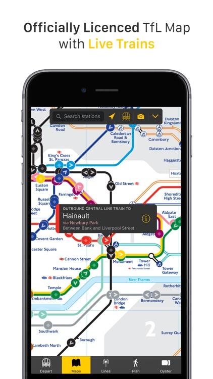 London Tube Tracker