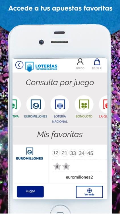 Loterías y Apuestas del Estado screenshot-3
