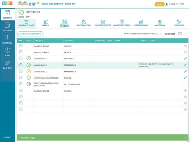 app registro elettronico argo