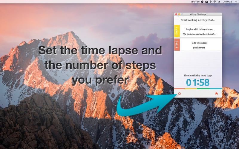 Writing Challenge app image