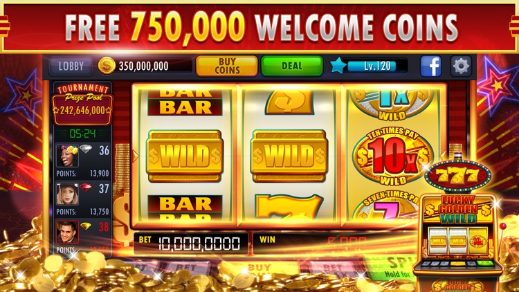 Lucky Jackpot Party:Vegas Slots & Casino Machines