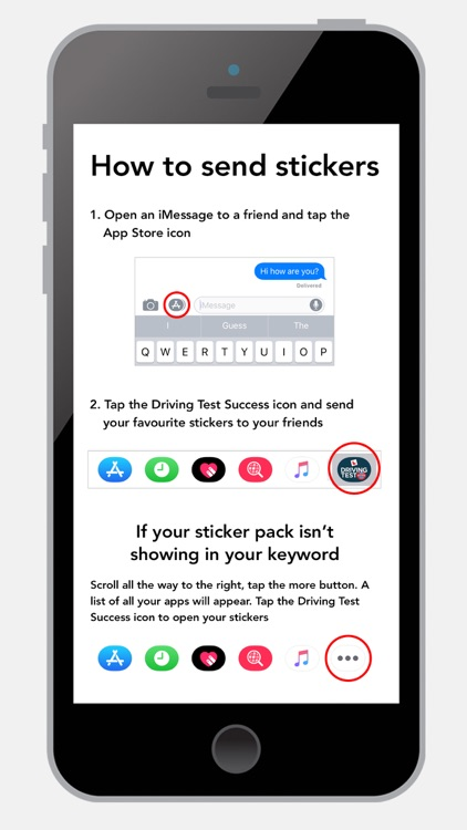 Learn to Drive Sticker Pack screenshot-4