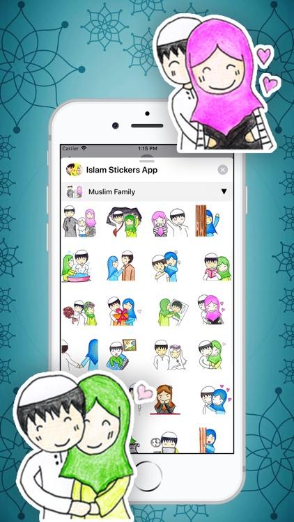 Islam Stickers App