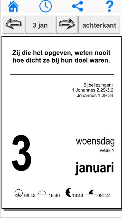 Gerarduskalender 2018