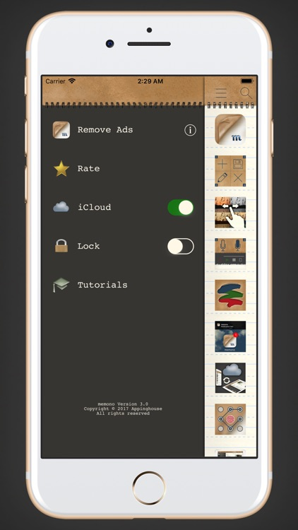 memono Notepad screenshot-3