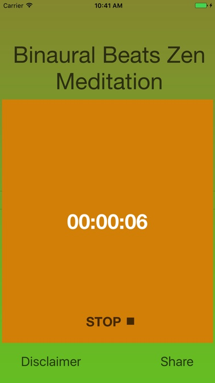 Binaural Beats Zen Meditation screenshot-4