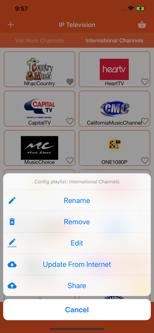 ‎MyTV IP - TV Online Screenshot