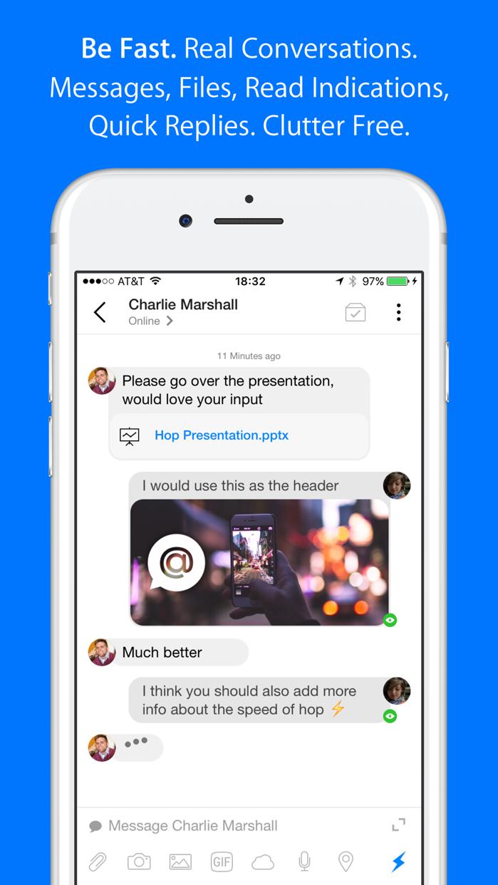 Hop - Fast & Powerful Email Screenshot
