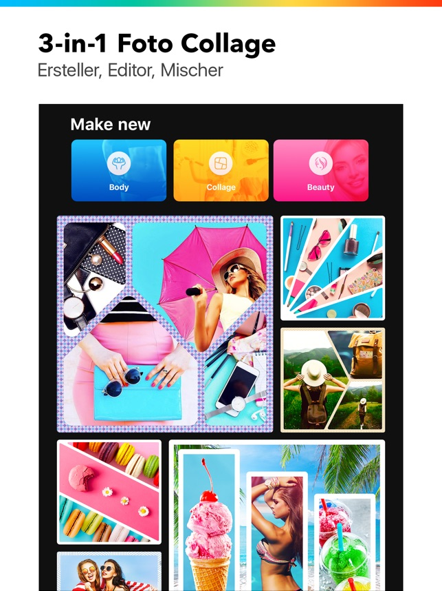 Foto Collage - Collageable im App Store