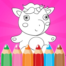 Unicorn Coloring Book For Boys and Girls
