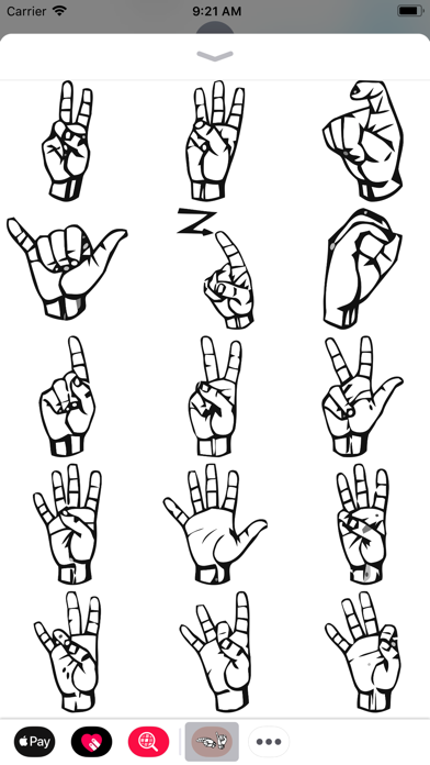 American Sign Language Pack screenshot four