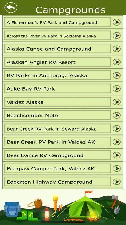Alaska Campgrounds & Trails screenshot-3
