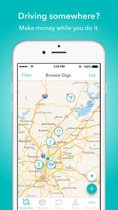 Roadie Delivery Screenshot