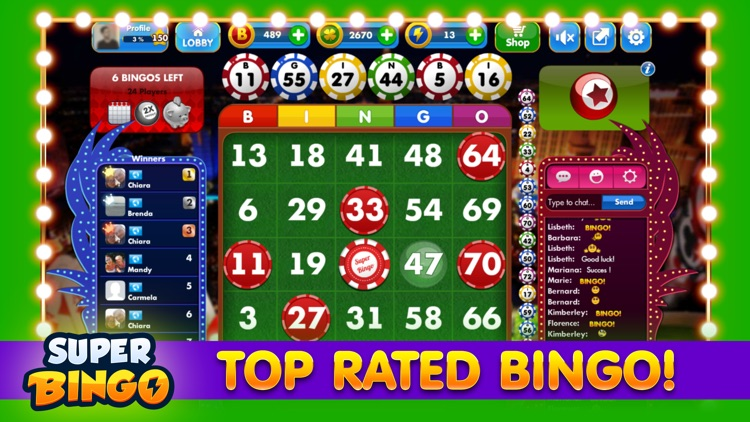 Super Bingo HD™ - Bingo Live screenshot-3
