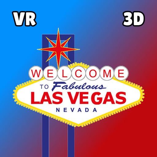 Vegas in 3D VR Virtual Reality