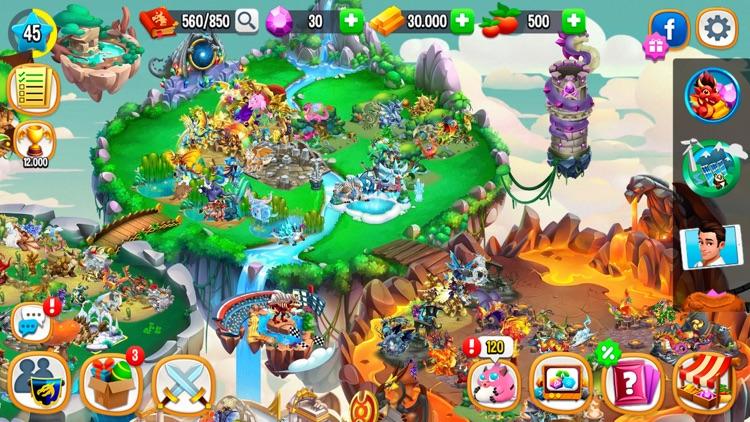 Dragon City Mobile screenshot-6