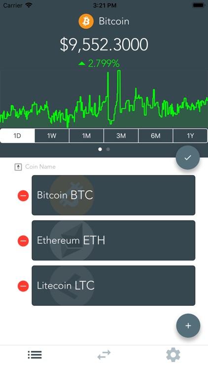 Dawn Crypto Tracker/Converter screenshot-3