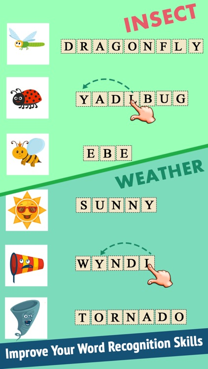 Kids Word Jumbles screenshot-5