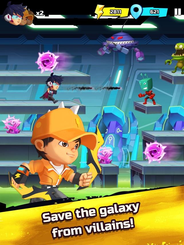 BoBoiBoy Galaxy Run, game for IOS