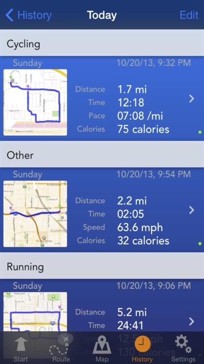 Fitness Tracks screenshot-4