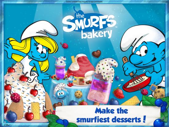 The Smurfs Bakery iPad app afbeelding 1