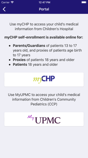 ChildrensPgh on the App Store