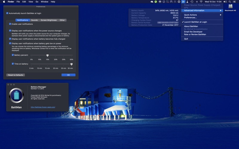 BattMan скриншот программы 1