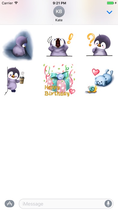 Penguin Bo Sticker Pack