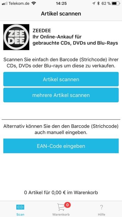 CD Ankauf ZeeDeeScreenshot von 1